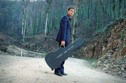 Publicity shot for musician and artist, Richard Besley, 2007
