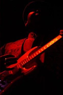 A member of Hugh Masekela's band - 'Eureka 150 Festival', Ballarat, 2004