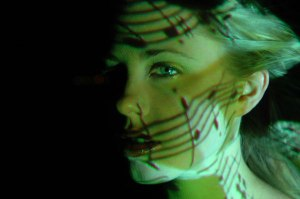 Publicity shot for 'Light Fantastic' - 2006 L'Oreal Melbourne Fashion Festival'. Produced by Laetitia Shand.