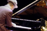 Wayne Shorter's pianist - 2005 'Umbria Jazz Festival' at The Melbourne Concert Hall.