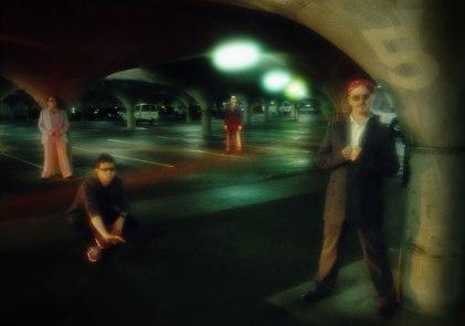 Publicity shot for the band, 'Nemo', circa 2002.