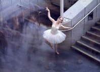 Publicity shot - '8.10 am. Dancer at Parliament Station', Melbourne, Australia