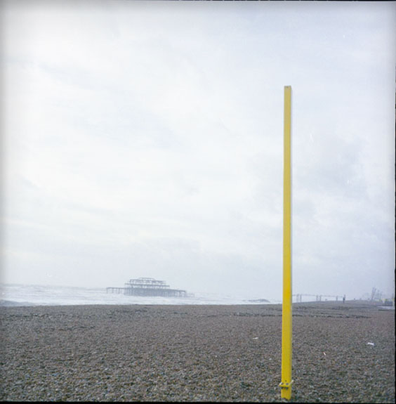 'Yellow Pole, Brighton, England, Circa 2008