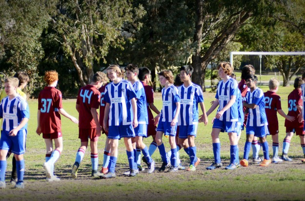 Noah Soccer at Sandringham Sec College