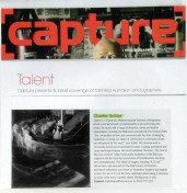 'Capture' photography magazine.