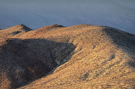 Hills at sunrise, from Dante's View, Death Valley, California, USA