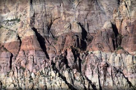 Rock face at Red Rock Canyon, Nevada, USA
