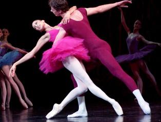 The Australian Ballet School - rehearsal for its 40th anniversary. Vitorian Arts Centre, Melbourne.