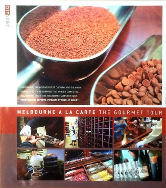 Gourmet Tour, Melbourne
