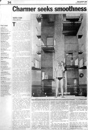 Italian Olympic swimmer, Massimilliano Rosolino - for The Sunday Age