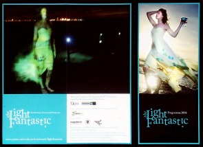 Promotional images for 'The Light Fantastic', 2006