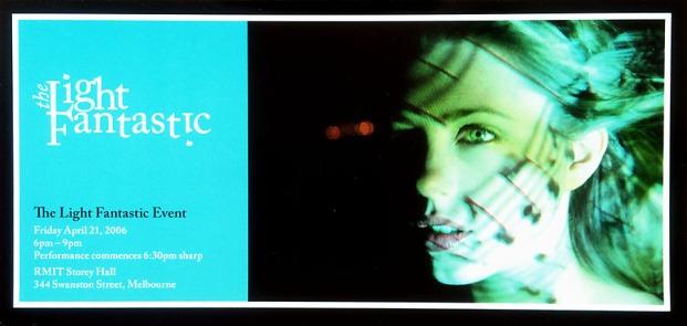 Publicity shot for 'The Light Fantastic', 2006
